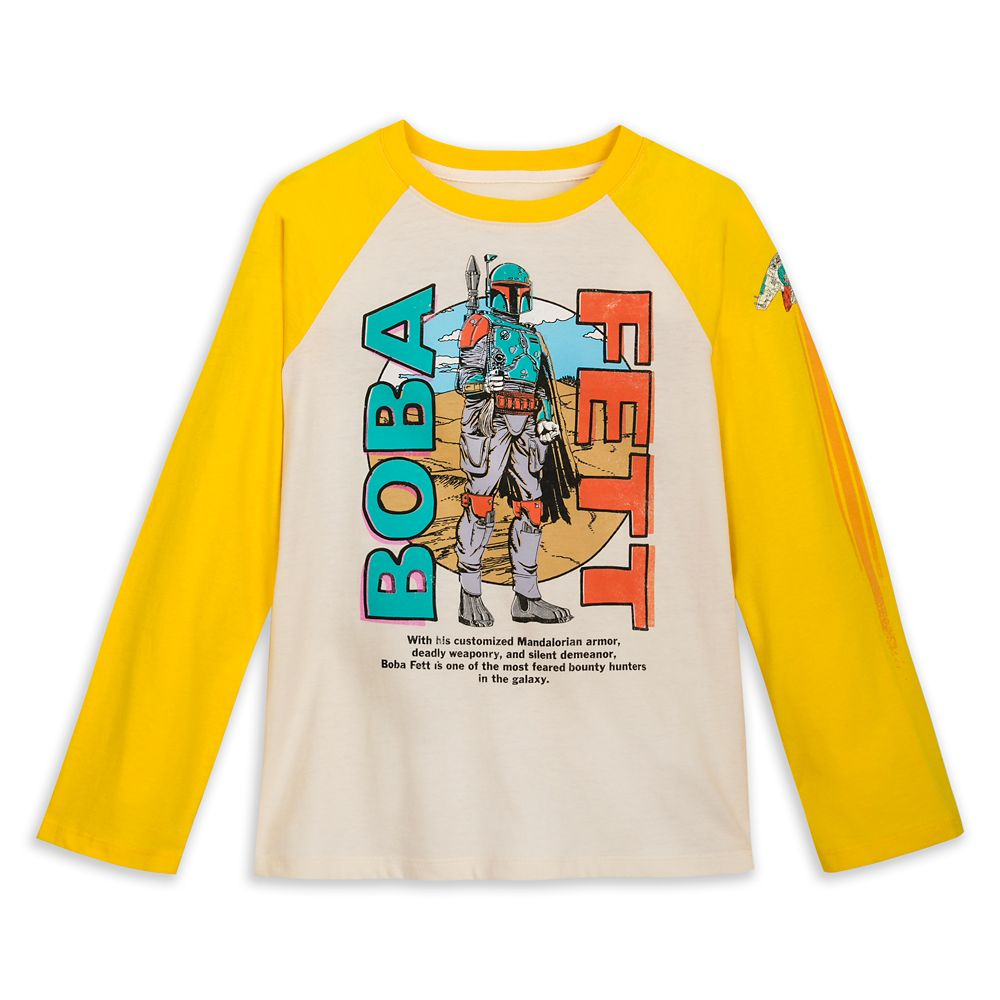 Boba Fett Baseball T-Shirt for Boys – Star Wars
