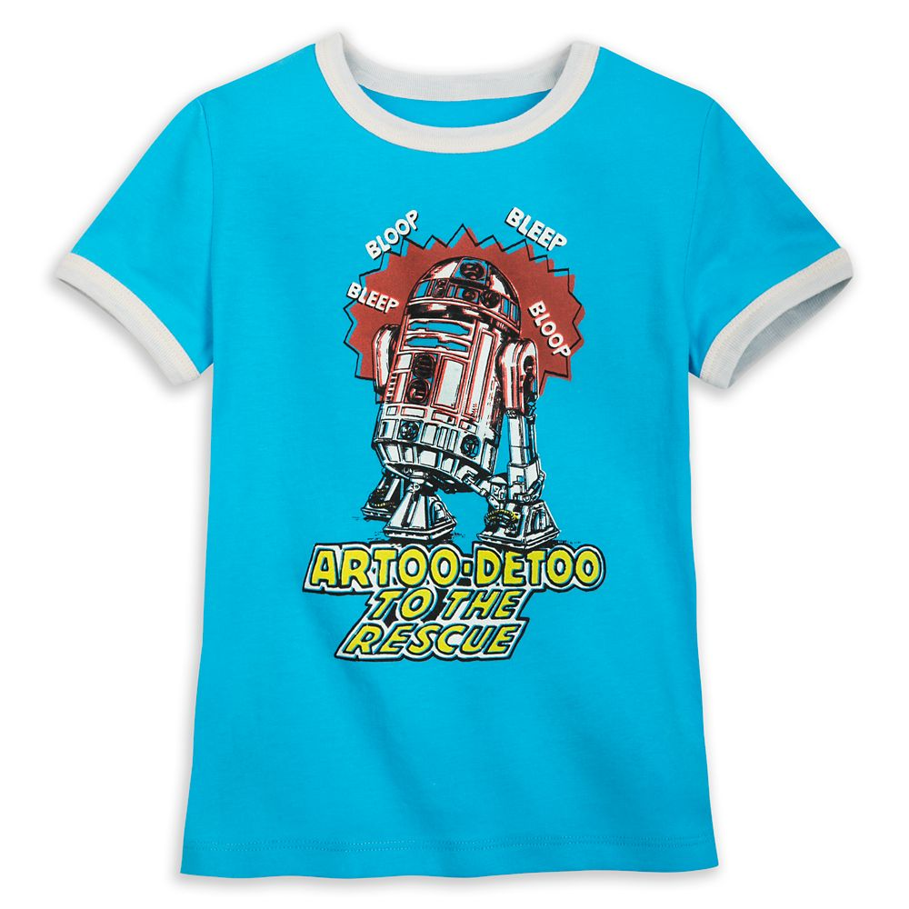 R2-D2 Ringer T-Shirt for Toddlers – Star Wars