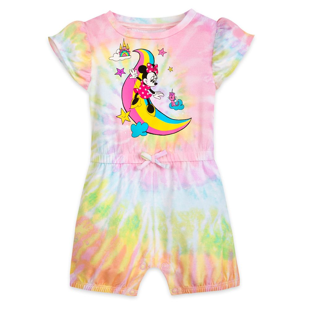 Minnie Mouse Tie-Dye Romper for Baby