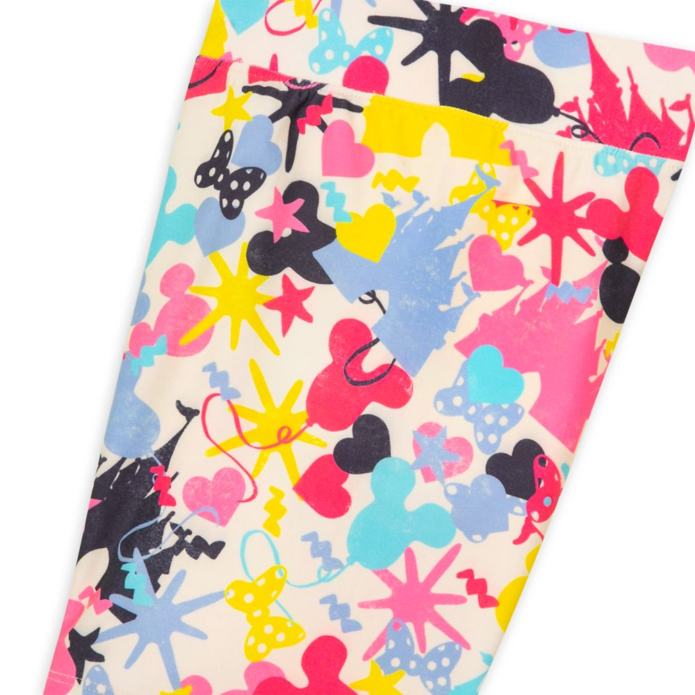 Mickey and Minnie Mouse Bike Shorts for Girls