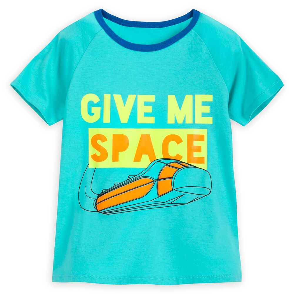 Space Mountain Ringer T-Shirt for Kids