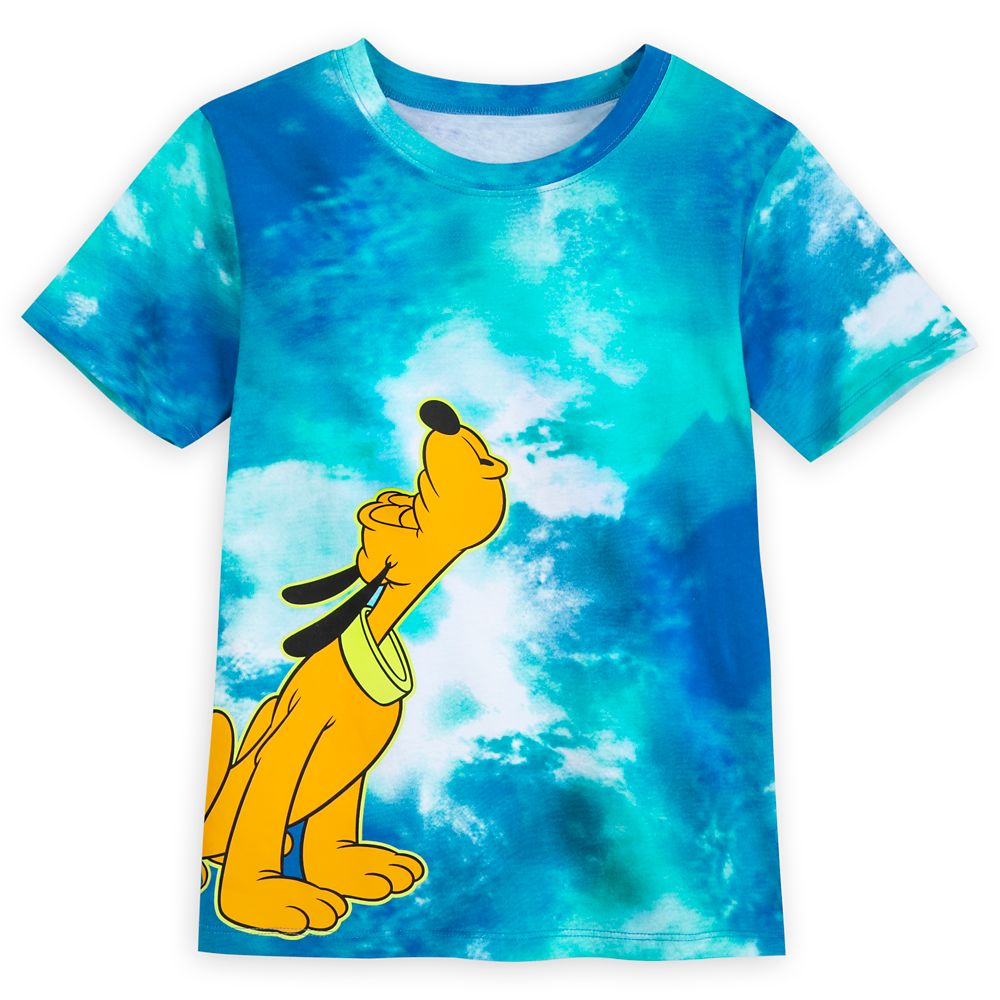 Pluto Tie-Dye T-Shirt for Kids