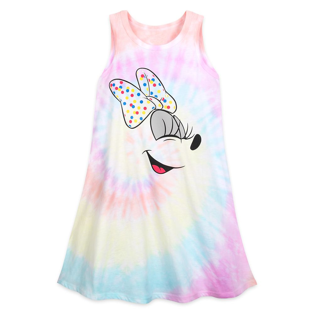 Minnie Mouse Tie-Dye Tank Dress for Girls