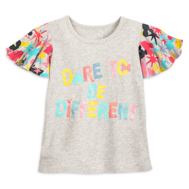 Minnie Mouse Message Fashion T-Shirt for Girls