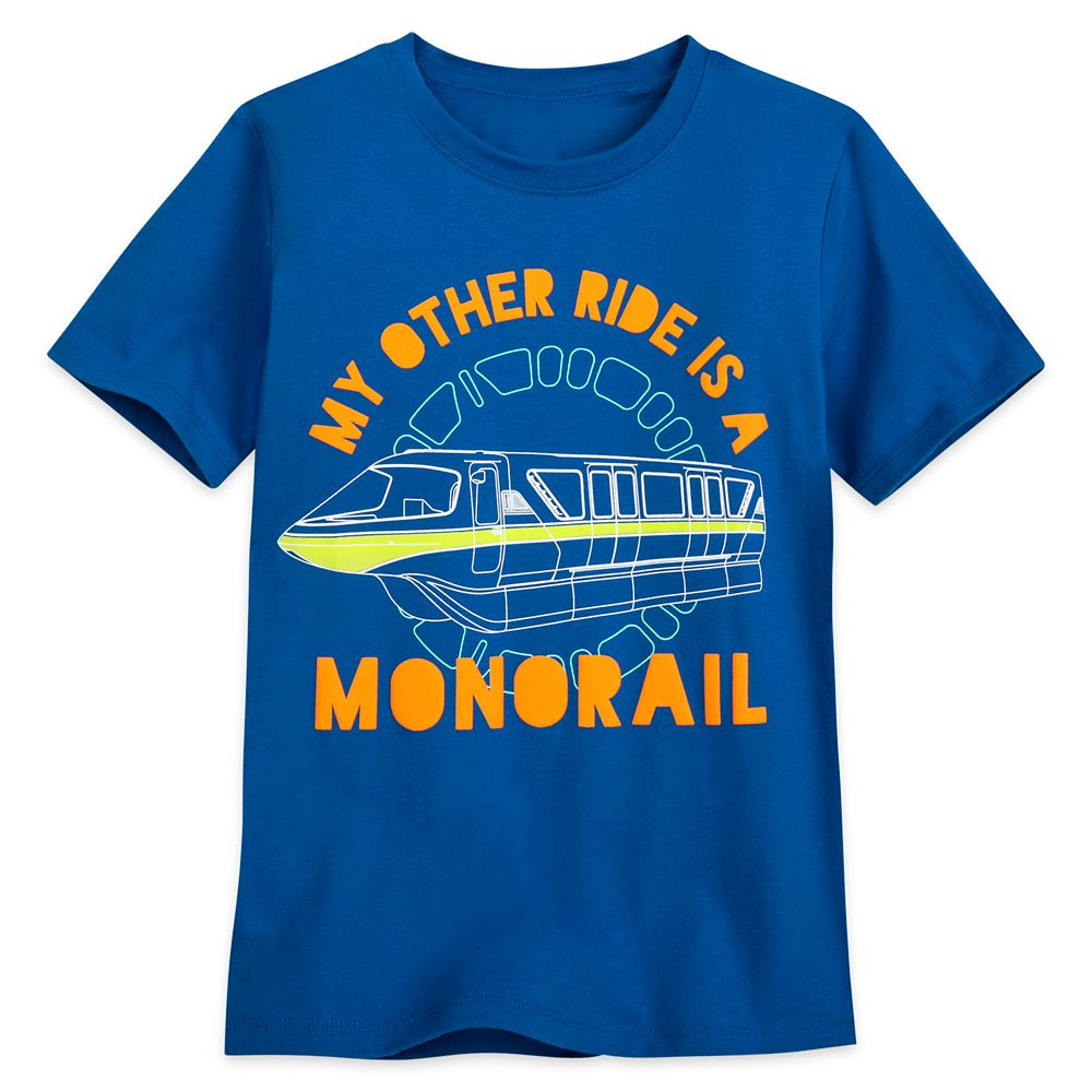 Monorail Neon T-Shirt for Kids