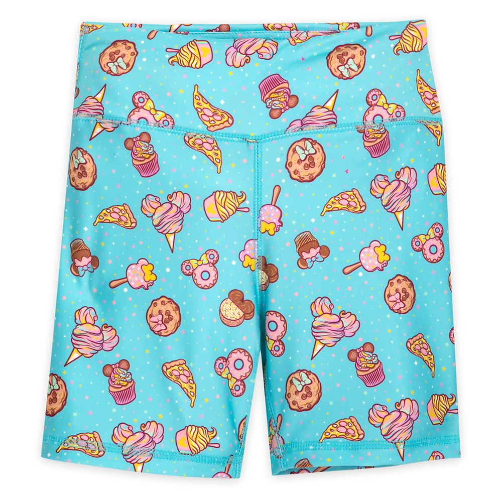 Disney Parks Food Icons Bike Shorts for Girls