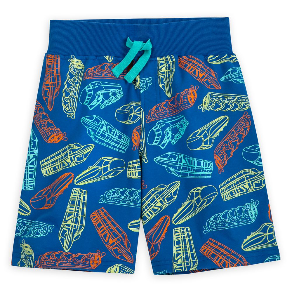 Disney Parks Ride Vehicles Shorts for Kids