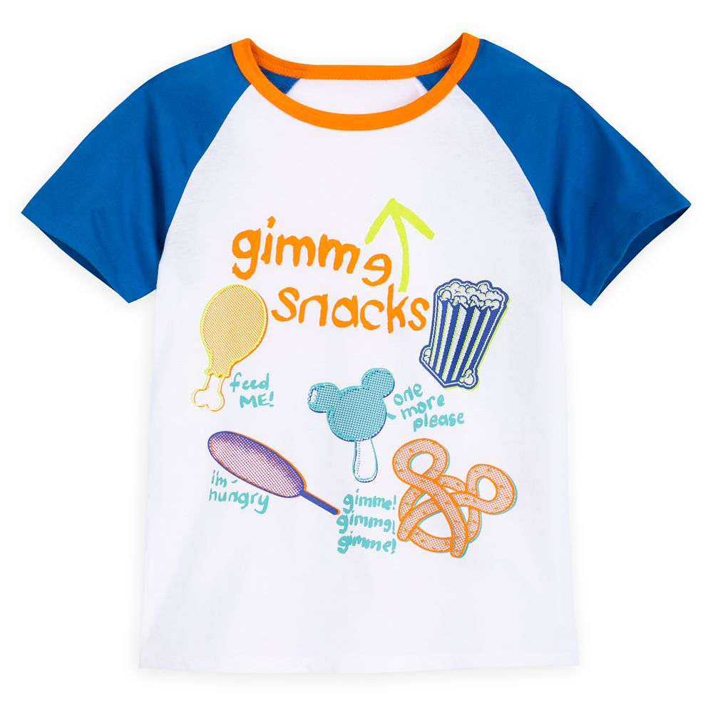 Disney Parks Treats Raglan T-Shirt for Kids