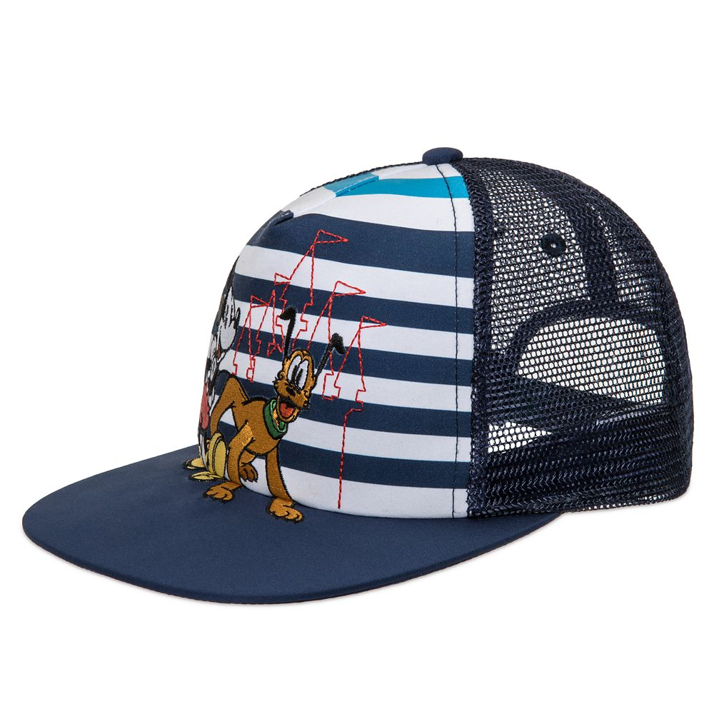 Mickey Mouse and Pluto Trucker Cap for Kids – Disneyland