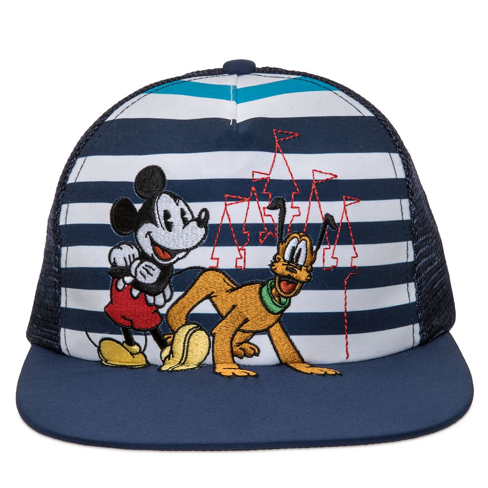 Mickey Mouse and Pluto Trucker Cap for Kids – Walt Disney World