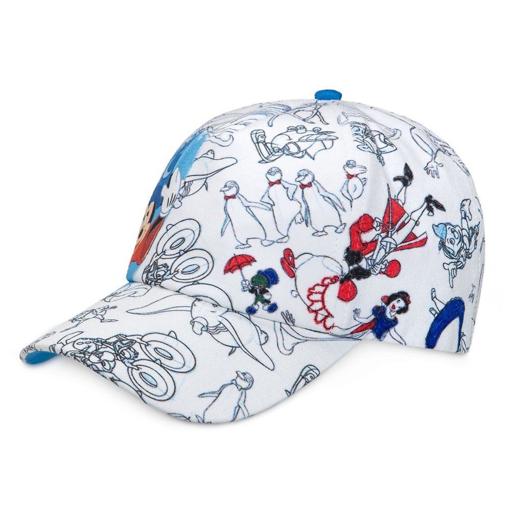 Disney Ink & Paint Baseball Cap for Kids with Markers