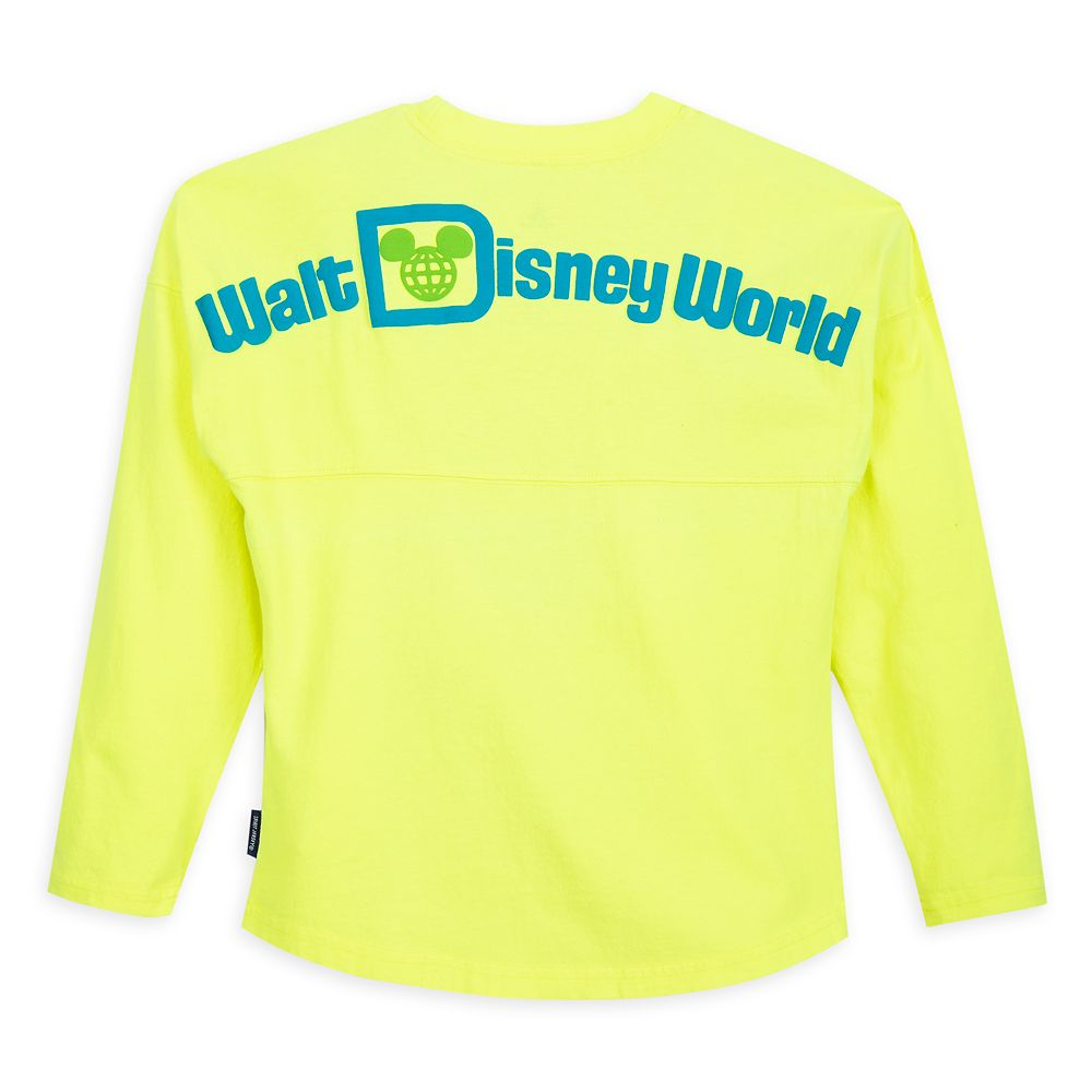 Mickey Mouse Neon Spirit Jersey for Kids – Walt Disney World – Yellow