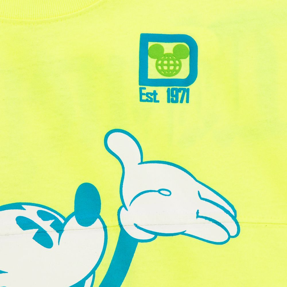 Mickey Mouse Neon Spirit Jersey for Kids – Walt Disney World – Yellow