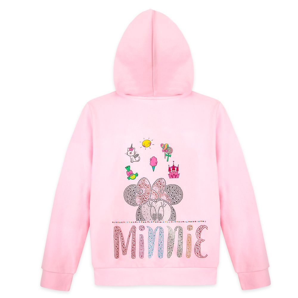 Minnie Mouse Zip Hoodie for Girls – Walt Disney World