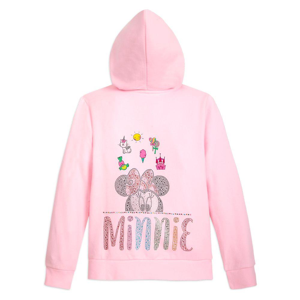 Minnie Mouse Zip Hoodie for Girls – Disneyland
