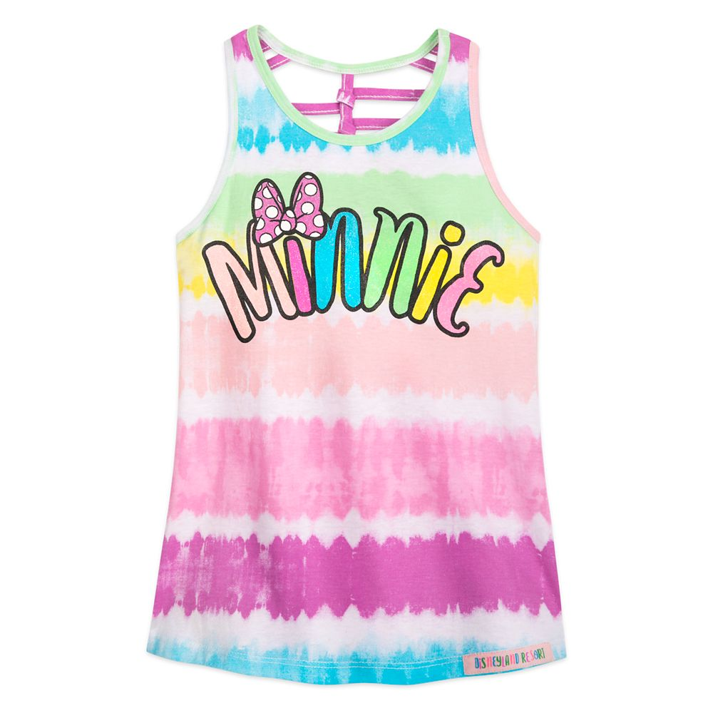 Minnie Mouse Tie-Dye Tank Top for Girls – Disneyland