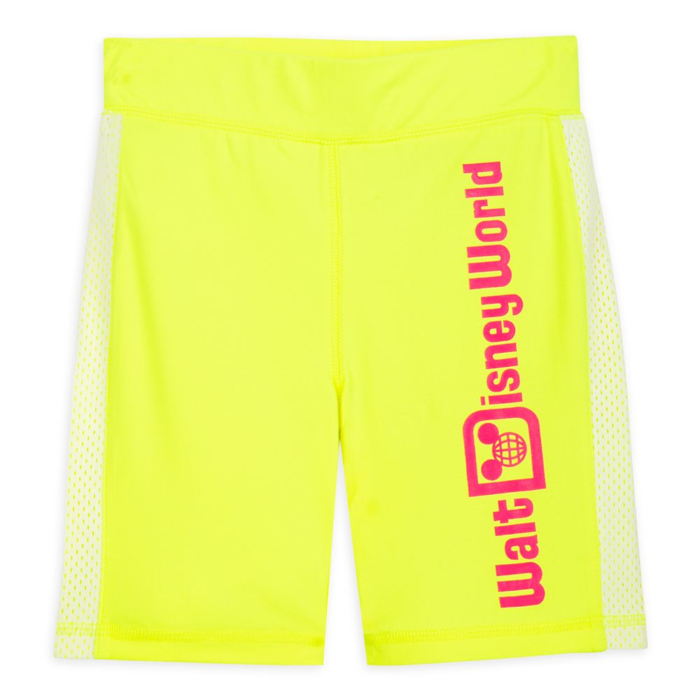 Walt Disney World Neon Bike Shorts for Kids