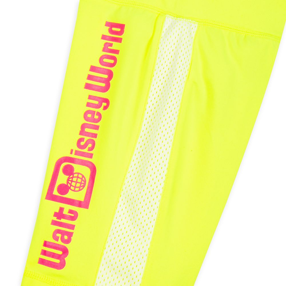 Walt Disney World Neon Bike Shorts for Kids