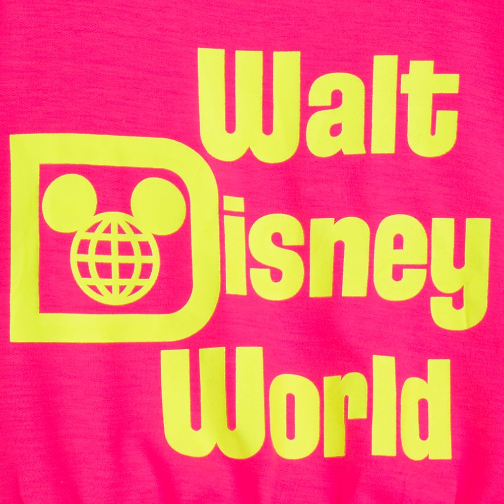 Walt Disney World Neon Cropped Top for Girls