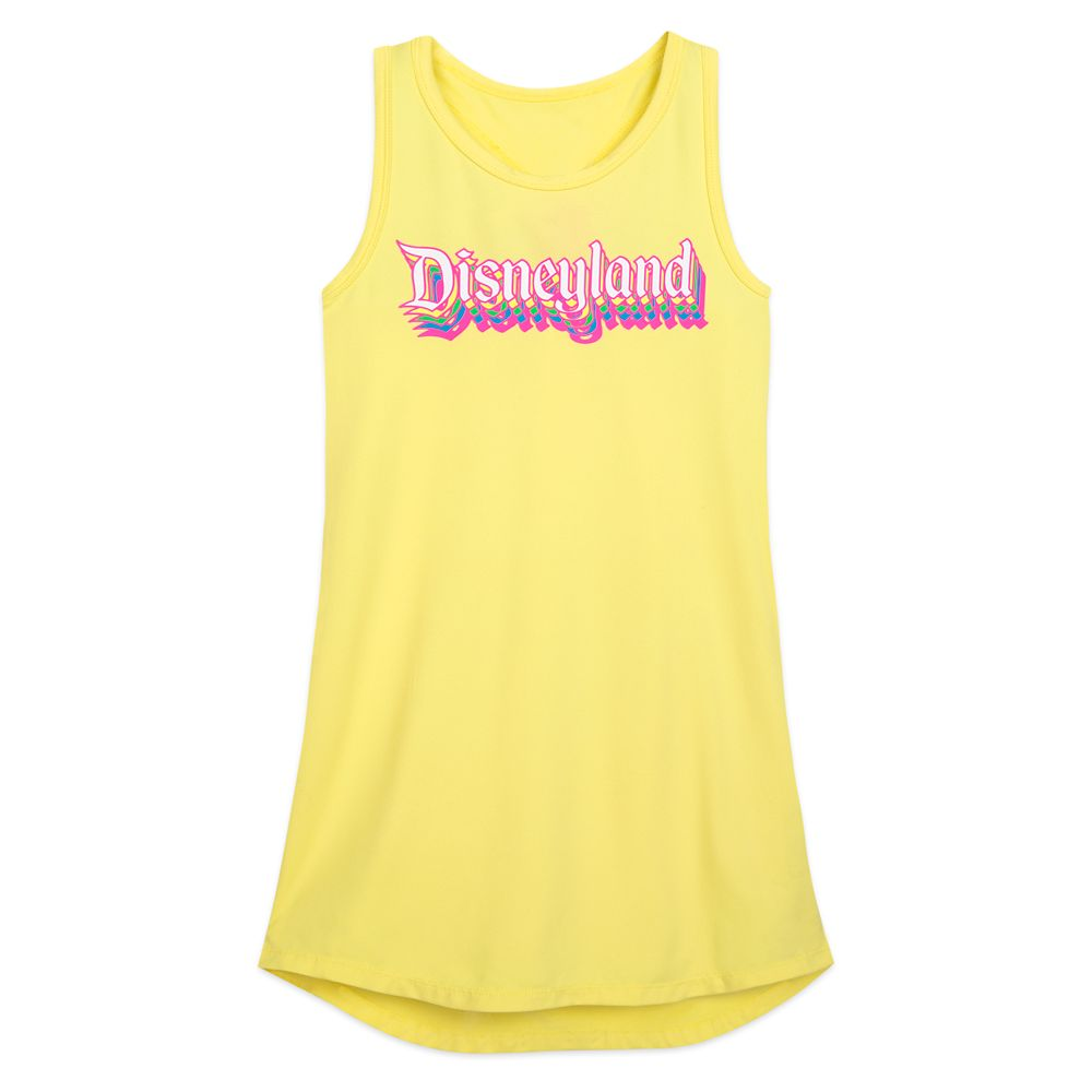 Disneyland Neon Tank Dress for Girls