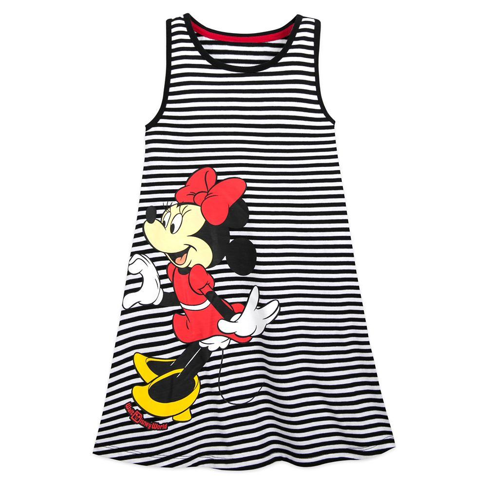 Mickey and Minnie Mouse Tank Dress for Girls – Walt Disney World