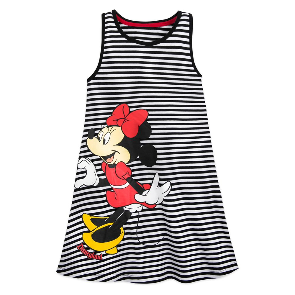 Mickey and Minnie Mouse Tank Dress for Girls – Disneyland