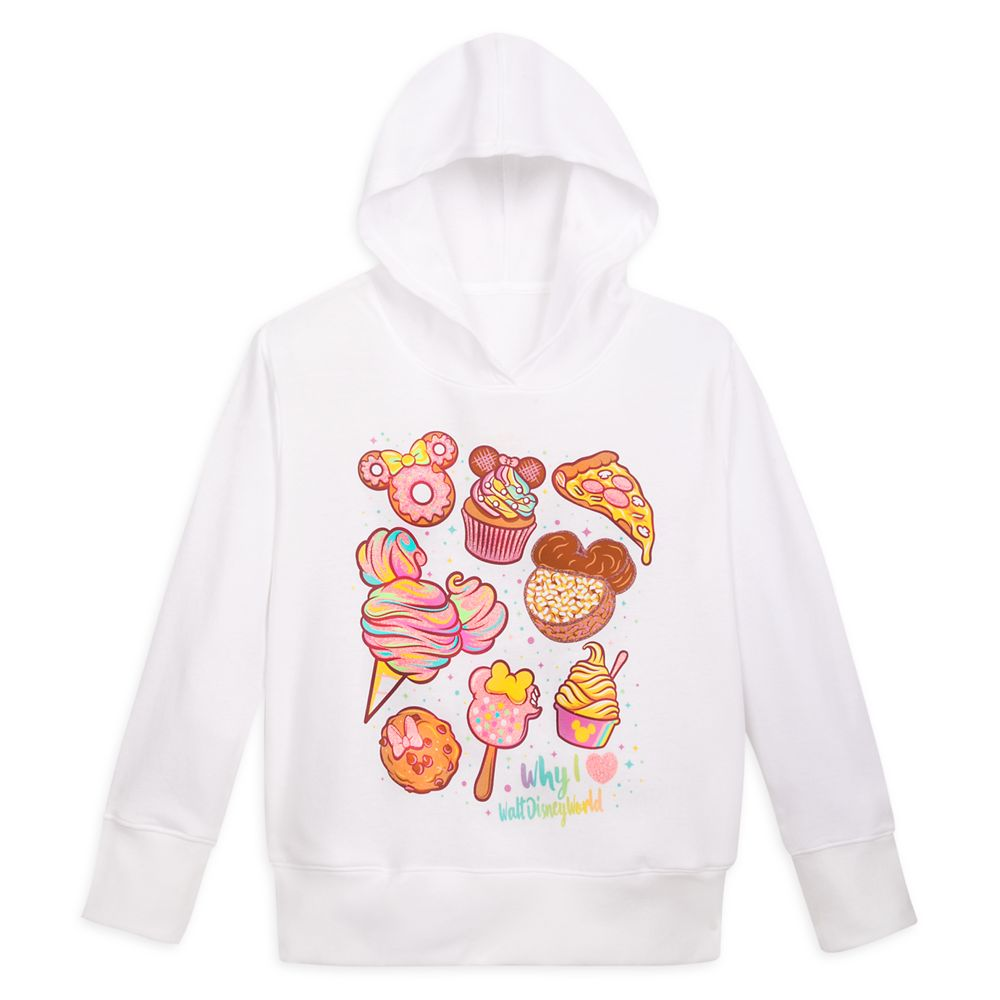 Walt Disney World Snack Treats Pullover Hoodie for Girls