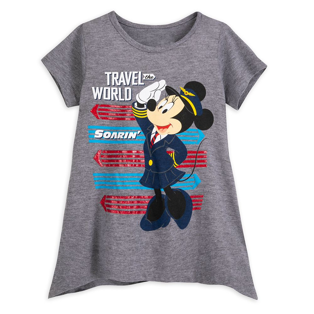 Minnie Mouse Soarin' T-Shirt for Girls