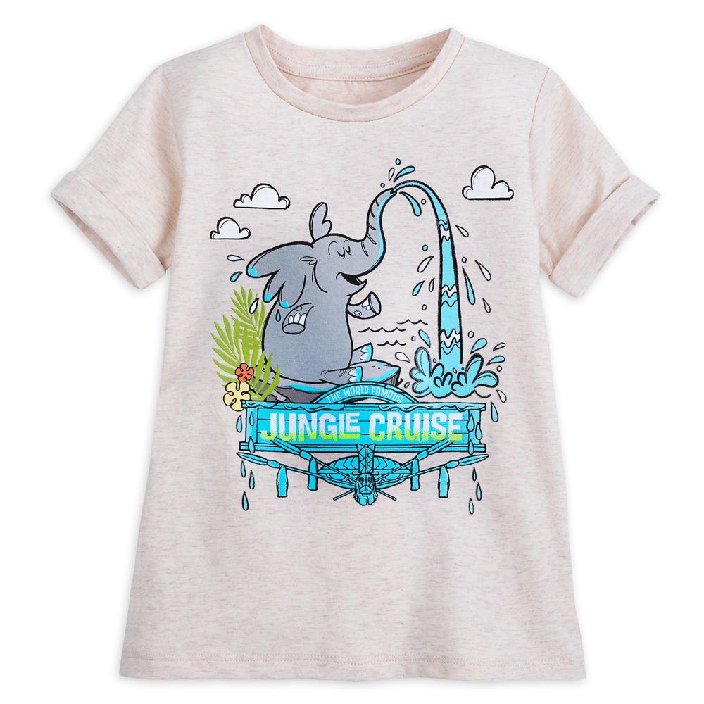 Jungle Cruise Elephant Pool T-Shirt for Girls