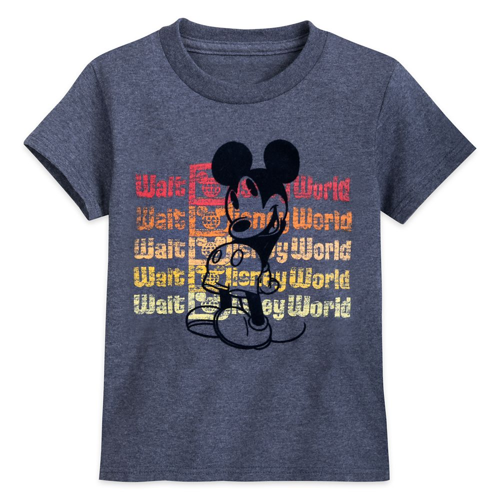 Mickey Mouse Flocked T-Shirt for Kids – Walt Disney World