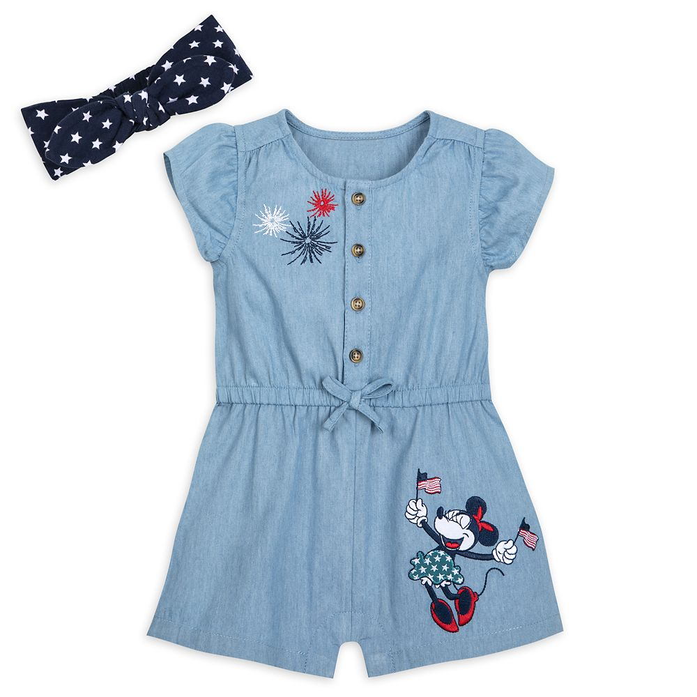 Minnie Mouse Americana Romper for Baby – Walt Disney World