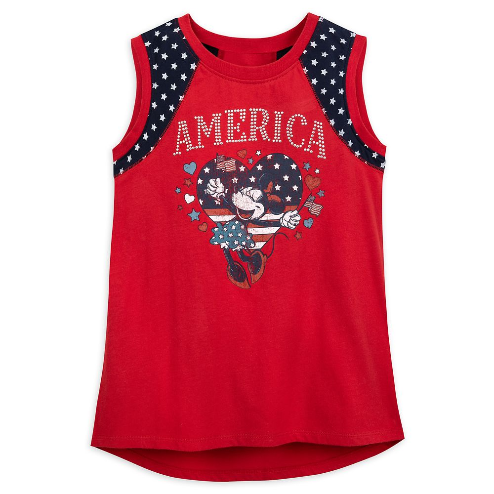 Minnie Mouse America Tank Top for Girls – Walt Disney World