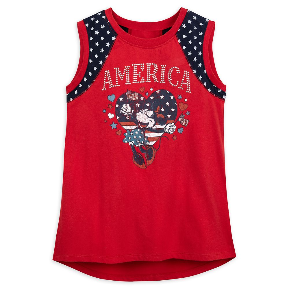 Minnie Mouse America Tank Top for Girls – Disneyland