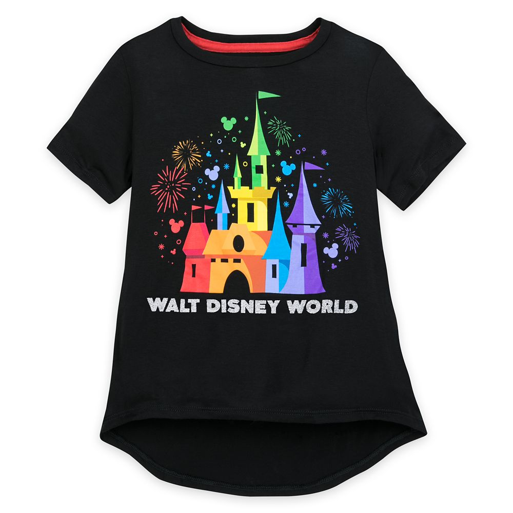Rainbow Disney Collection Fantasyland Castle T-Shirt for Kids by Spirit Jersey – Walt Disney World