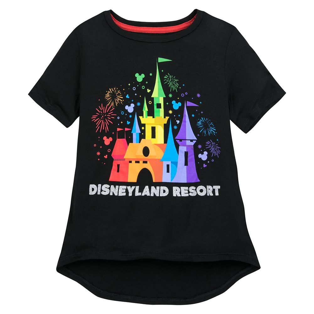 Rainbow Disney Collection Fantasyland Castle T-Shirt for Kids by Spirit Jersey – Disneyland