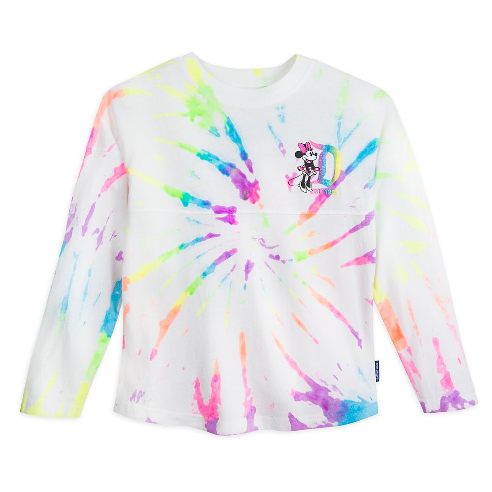 Minnie Mouse Neon Rainbow Spirit Jersey for Girls – Disneyland
