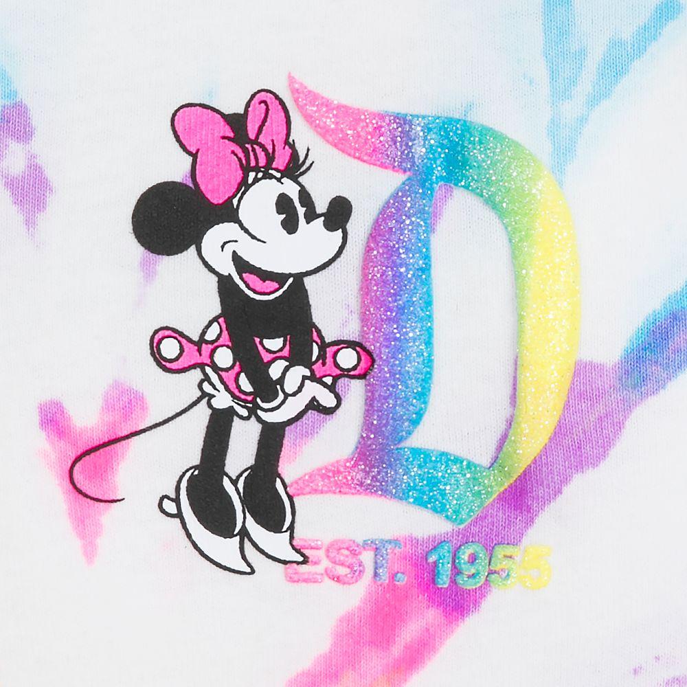Minnie Mouse Neon Rainbow Spirit Jersey for Girls – Disneyland