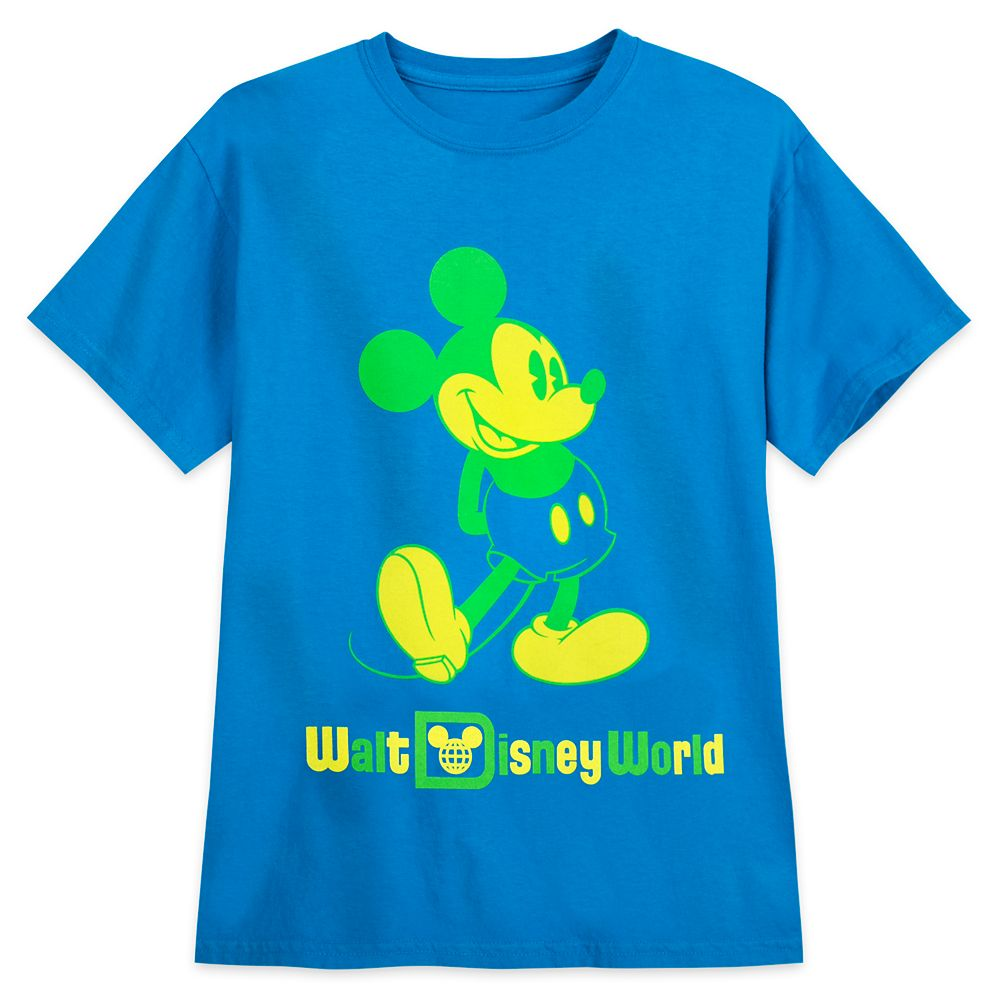 Mickey Mouse Classic Neon T-Shirt for Kids – Walt Disney World