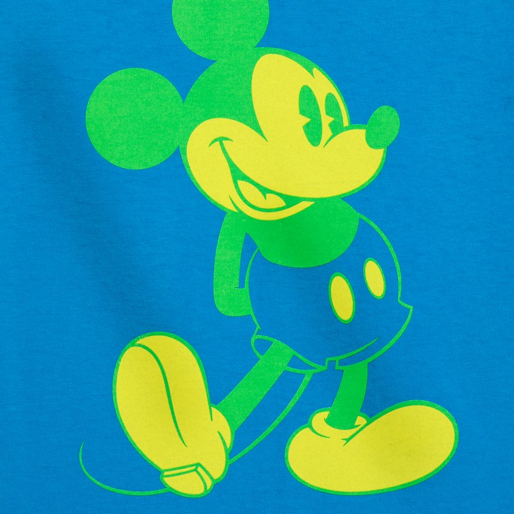 Mickey Mouse Classic Neon T-Shirt for Kids – Disneyland