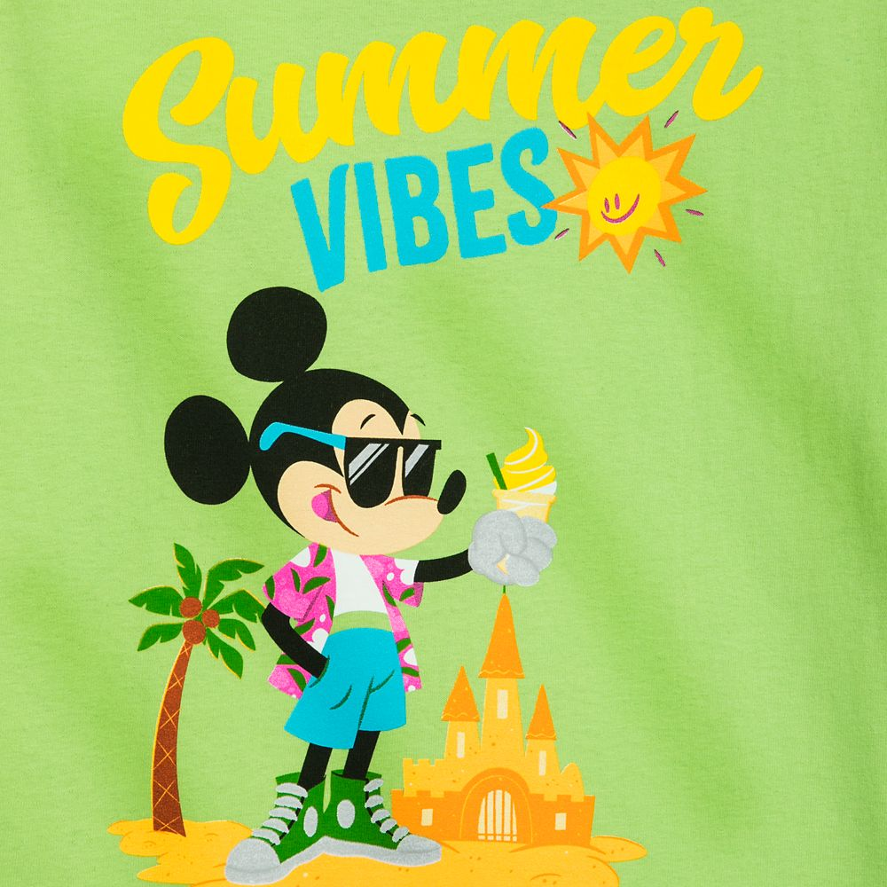 Mickey Mouse ''Summer Vibes'' T-Shirt for Kids – Disneyland