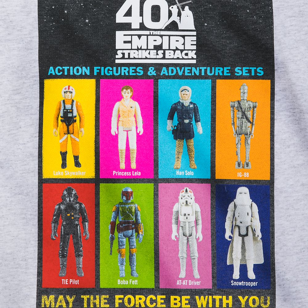 Star Wars: The Empire Strikes Back T-Shirt for Kids – 40th Anniversary