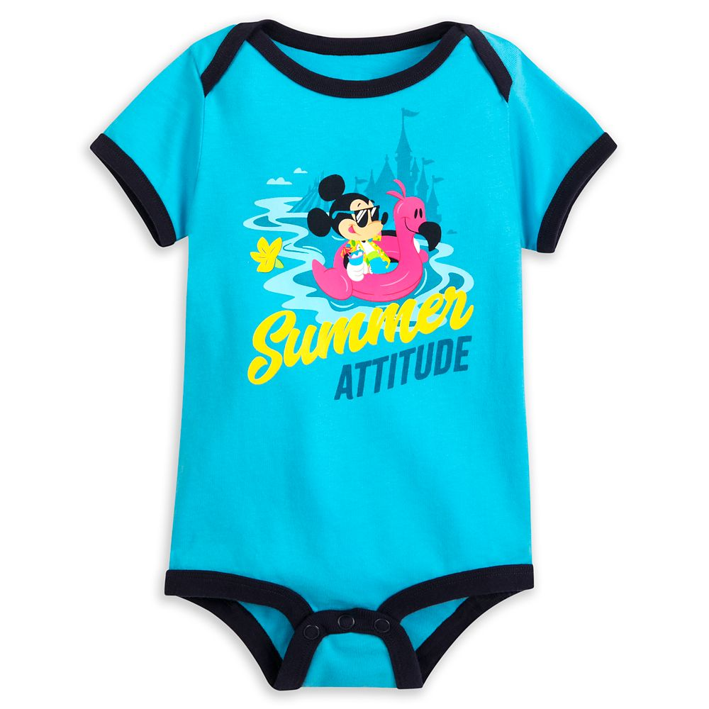 Mickey Mouse ''Summer Attitude'' Bodysuit for Baby  Disney Parks