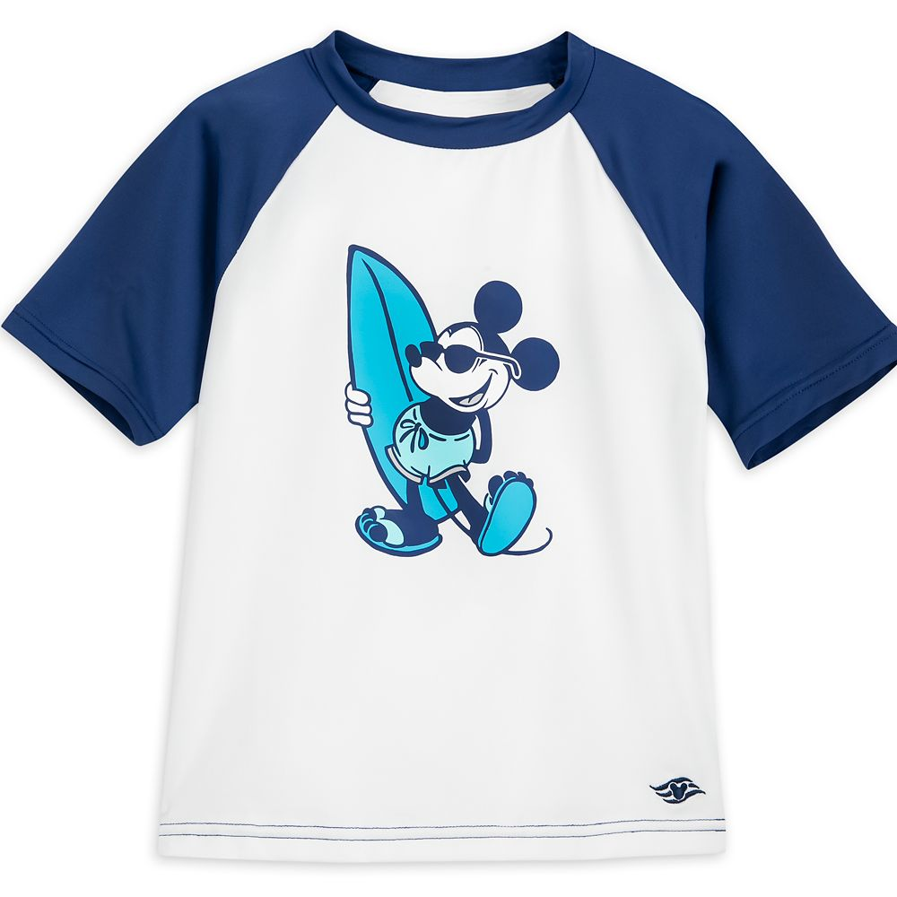 Mickey Mouse Rash Guard for Kids  Disney Cruise Line