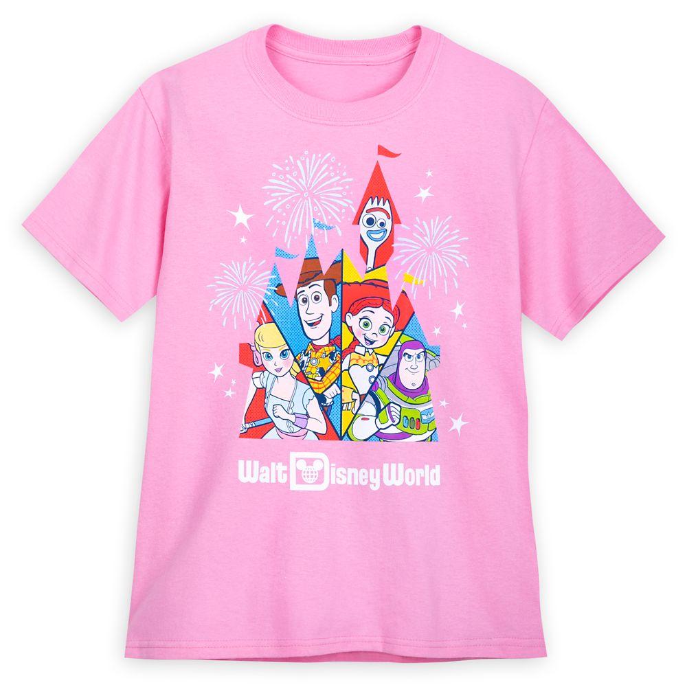 Toy Story T-Shirt for Kids – Walt Disney World – Pink