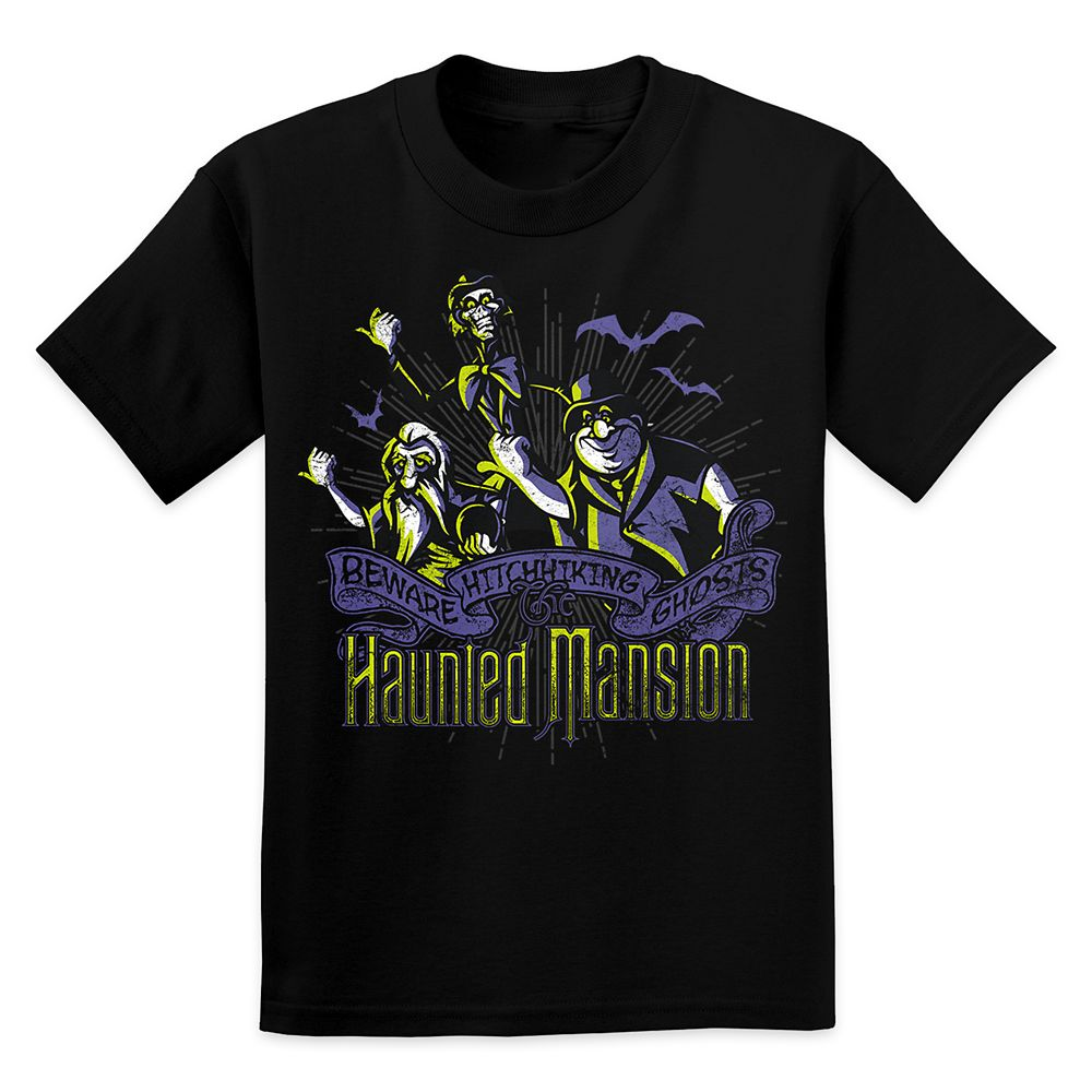 Hitchhiking Ghosts Tee for Kids – The Haunted Mansion