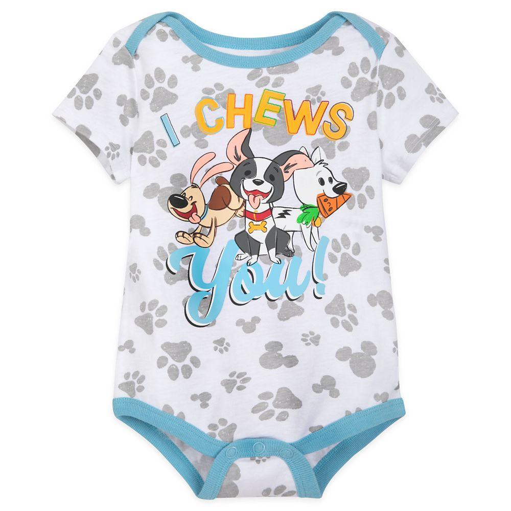 Disney Dogs ''I Chews You'' Bodysuit for Baby