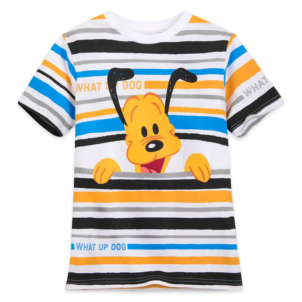 Pluto Striped T-Shirt for Boys