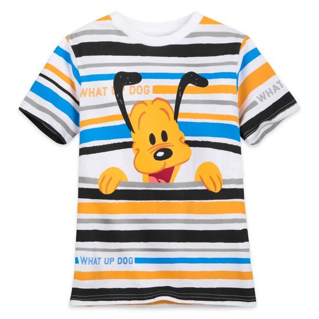Pluto Striped T-Shirt for Boys