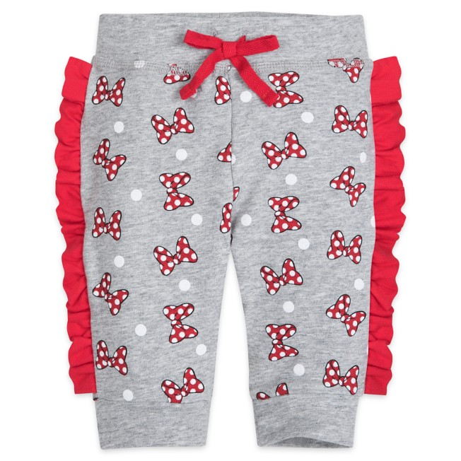 Minnie Mouse Polka Dot Bows Sweatpants for Baby