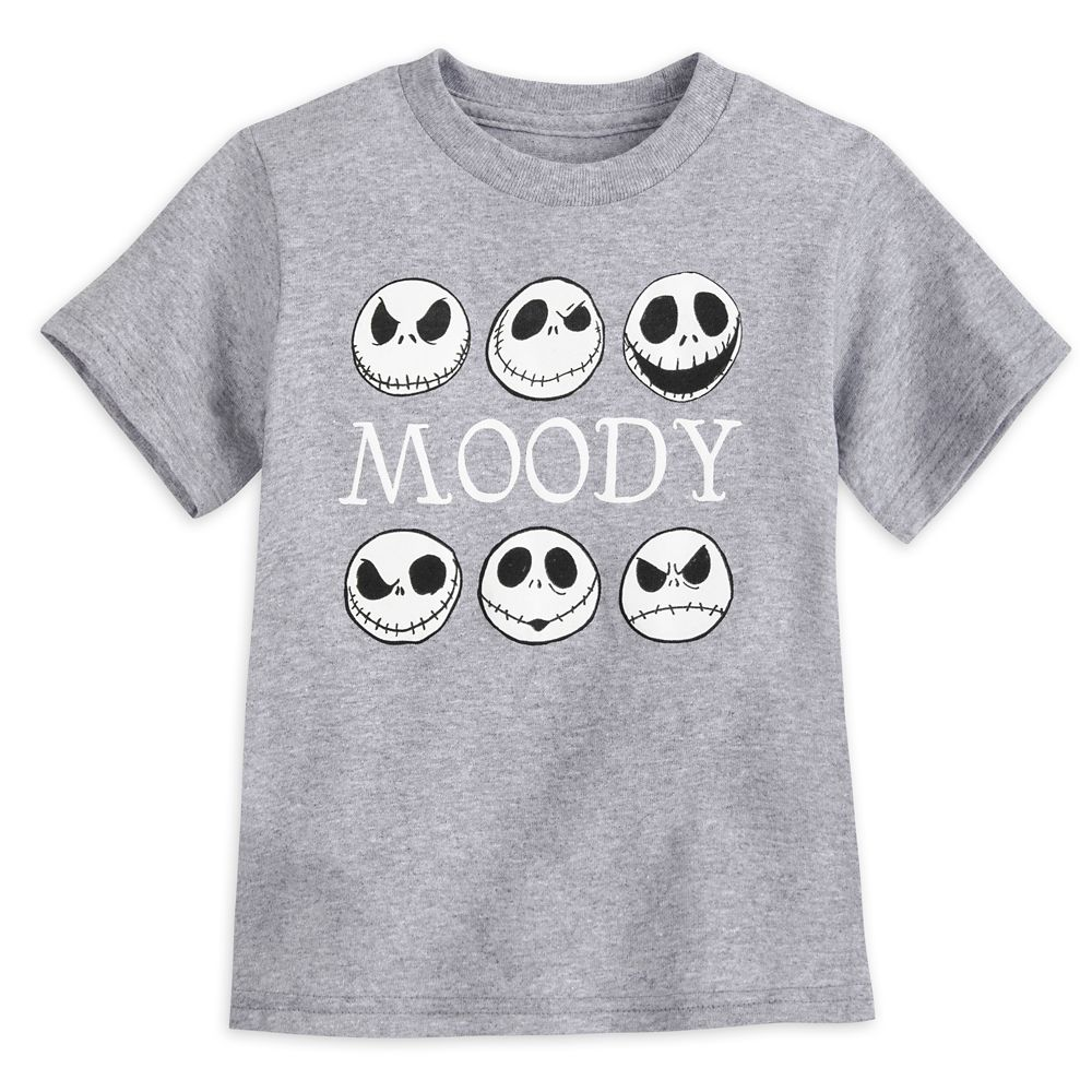 Jack Skellington Glow-in-the-Dark T-Shirt for Toddlers